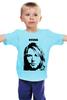 """Детская футболка классическая унисекс """"Nirvana"""" - grunge, kurt cobain, кобейн"""