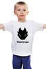 """Детская футболка """"Ночная Фурия (Night Fury)"""" - ночная фурия, как приручить дракона, night fury"""