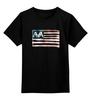 "Детская футболка классическая унисекс ""Flag Banner AvA"" - ava, angelsandairwaves, blink182, tomdelonge, tothestars"