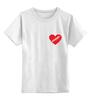 """Детская футболка классическая унисекс """"heart"""" - heart"""