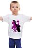 """Детская футболка классическая унисекс """"saxophone"""""""