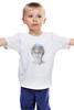 """Детская футболка """"Алиса Селезнева"""" - гостья из будущего, миелофон, алиса селезнева, гостья, будущего"""