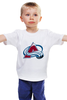 "Детская футболка ""Colorado Avalanche"" - nhl, нхл, colorado avalanche"