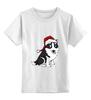 """Детская футболка классическая унисекс """"Smokey"""" - dog, пёс, husky, лайка"""