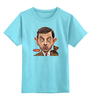 "Детская футболка классическая унисекс ""Mr.Bean"" - rowan atkinson, актёр, мистер бин, роуэн аткинсон, mr bean"