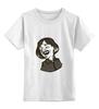"""Детская футболка классическая унисекс """"Гоголь"""" - литература, гоголь, писатель, nikolai gogol"""