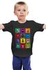 """Детская футболка """"Бэтмен Поп Арт"""" - joker, batman, бэтмен, bane, robin"""