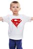 """Детская футболка классическая унисекс """"Superman Death Of Bloody"""" - кровь, superman, фильм, blood, супермэн"""