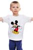 "Детская футболка классическая унисекс ""Микки Маус"" - арт, mickey mouse"