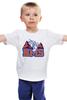 """Детская футболка классическая унисекс """"Реальные Парни (Blue Mountain State) BMS"""" - сериал, bms, blue mountain state, американский футбол, штат голубая гора"""