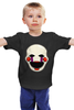 """Детская футболка классическая унисекс """"Puppet (Пять ночей у Фредди)"""" - puppet, пять ночей у фредди, выживание в кошмаре, five nights at freddy's"""