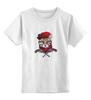"""Детская футболка классическая унисекс """"Revolver Ocelot"""" - животные, metal gear solid"""