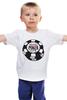 """Детская футболка классическая унисекс """"Покер (Poker)"""" - карты, покер, фишки, казино, casino, poker stars, звезды покера"""