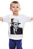 """Детская футболка """"Аль Капоне"""" - череп, пистолет, авторские майки, ny, кости, шляпа, пуля, chicago, нью йорк, гангстер"""