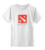 """Детская футболка классическая унисекс """"DotA 2"""" - valve, dota, дота, dota2, стим, steam, дотка, игромир, задродство"""
