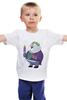 """Детская футболка классическая унисекс """"Fat Joker"""" - joker, джокер, обжорство"""