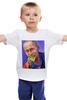 """Детская футболка классическая унисекс """"Путин"""" - москва, россия, сочи, путин, кремль"""