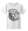 """Детская футболка классическая унисекс """"любовь"""" - лев, lion, lioness"""