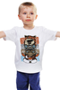 """Детская футболка классическая унисекс """"Монстры из 80-х"""" - инопланетянин, гремлин, валл-е, гризли"""