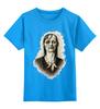 "Детская футболка классическая унисекс ""Zomdie Art girl"" - девушка, zombie, зомби, ходячие мертвецы, the walking dead"