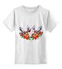 """Детская футболка классическая унисекс """"Петя Буль т"""" - dog, собака, розы, бультерьер, бомба, дог, гранат, tm kiseleva, питбуль"""