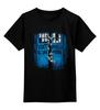 """Детская футболка классическая унисекс """"Тардис и Зомби"""" - zombie, doctor who, доктор кто, ходячие мертвецы, walking dead"""