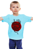 """Детская футболка классическая унисекс """"Dragon"""" - дракон, рисунок, sun, dragon, япония, japan"""