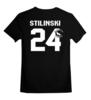 """Детская футболка классическая унисекс """"Stilinski 24"""" - волчонок, teen wolf"""