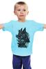"""Детская футболка классическая унисекс """"Бэтмен (Batman)"""" - batman, бэтмен, темный рыцарь"""