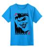 """Детская футболка классическая унисекс """"JOKER"""" - joker, карта, джокер, улыбка, готэм"""
