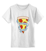 """Детская футболка классическая унисекс """"Пицца Навсегда"""" - пицца, pizza, pizza forever"""