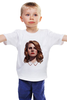 """Детская футболка классическая унисекс """"Lana del Rey"""" - стиль, рисунок, портрет, lana, лана дель рей"""
