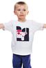 """Детская футболка классическая унисекс """"Двое и музыка"""" - музыка, любовь, весна, чувства, двое"""