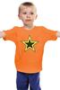 "Детская футболка классическая унисекс ""Starman"" - star, звезда, stars, звёзды, starman"