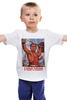 "Детская футболка ""Спорт"" - спорт, ретро, фитнес, жим над головой"