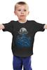 """Детская футболка """"Зов Ктулху"""" - ктулху, осьминог, cthulhu, лавкрафт, lovecraft"""