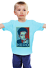 "Детская футболка ""Герой (Эдвард Сноуден)"" - obey, hero, edward snowden, эдвард сноуден"