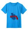 """Детская футболка классическая унисекс """"бокс"""" - спорт, бокс, la, boxing club, боксерский клуб, лос-анджелес"""