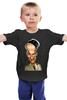 """Детская футболка классическая унисекс """"Louis de Funes"""" - france, комик, актёр, луи де фюнес, louis de funes"""