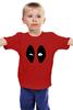 """Детская футболка классическая унисекс """"Deadpool"""" - marvel, deadpool, дэдпул"""