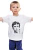 """Детская футболка классическая унисекс """"Высоцкий"""" - высоцкий"""