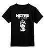 "Детская футболка классическая унисекс ""Метро 2033"" - игра, метро, сталкер, metro, метро 2033"