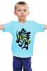 """Детская футболка классическая унисекс """"Щекотка и Царапка (Симпсоны)"""" - симпсоны, the simpsons, щекотка и царапка"""