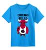 """Детская футболка классическая унисекс """"Chicago Bulls"""" - баскетбол, bulls, бык, chicago bulls, чикаго буллз"""