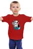 """Детская футболка классическая унисекс """"Моя любимая...Сардинка..."""" - dog, собака, бульдог"""