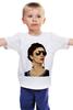 """Детская футболка классическая унисекс """"Я тебя Люблю"""" - любовь, дизайн, подарок, сюрприз, любимая"""