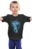 """Детская футболка классическая унисекс """"Мастер церемоний"""" - абстракция, doctor who, tardis, доктор кто, тардис"""