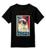 """Детская футболка классическая унисекс """"Grumpy Cat """" - приколы, cat, безудержное веселье, кот безысходность"""