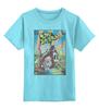 """Детская футболка классическая унисекс """"Зловещие Мертвецы"""" - зомби, винтаж, япония, иероглифы, зловещие мертвецы"""