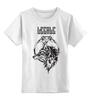 """Детская футболка классическая унисекс """"Stiletto fox"""" - нож, fox, лиса, animal, животное, knives, ножы, стилет, knife, stylet"""